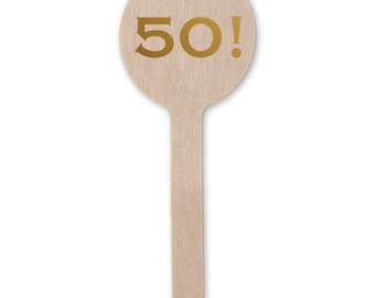 Birthday Celebration Stir Sticks