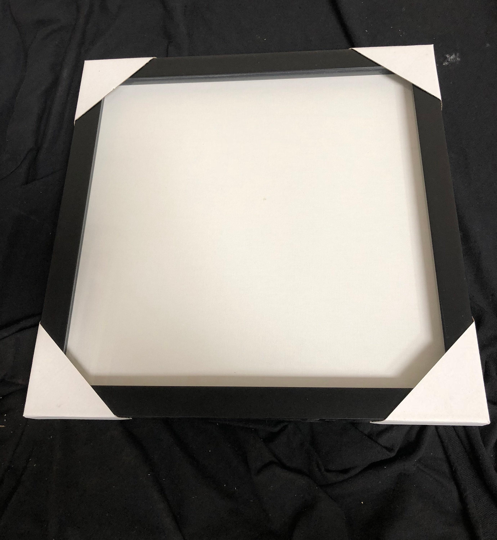 Shadow Box schwarzen Rahmen 20 x 20 Holz Bilderrahmen
