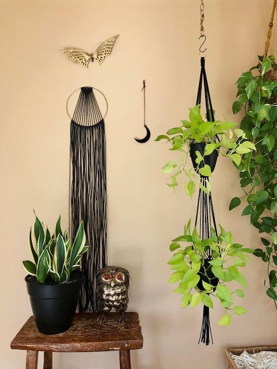 """Macrame Plant Hanger - 60"""" Simple Double"""