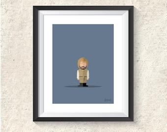 Featureless portrait - Tyrion Lannister
