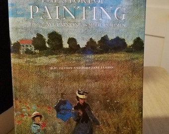 "Vintage Art Book ""The Story of Painting""  Printed and Bound in Japan Milton S Fox -- Editor 1966"