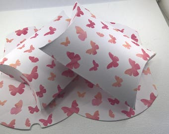 10 Jewelry Gift Boxes,  Pillow Boxes, butterfly Boxes, Party Boxes, Favour Boxes, Wedding boxes, Gift Boxes, Boxes, Jewelry Gift Boxes.