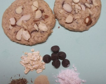 48 Almond Chocolate Chip Lactation Cookies