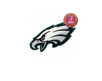 Philadelphia Eagles  7 Sizes Sport Team Embroidery Design instatnt download machine embroidery pattern