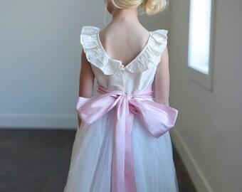 The Ruffle Ballerina Flower Girl Dress