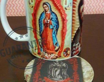 Virgen de Guadalupe   coffee mug cup