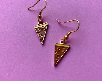 FREE Shipping! Pizza Earrings, Sunny Side Up, Funky Earrings, Funky Jewellery, Cute Accessories, Food Jewellery