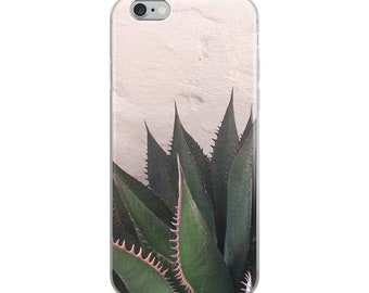 Succulent on Pink Phone Case