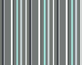 Michael Miller - TREK - Stone - Stripe - CX7907-STON-D - 100% cotton fabric - Fabric by the yard(s)