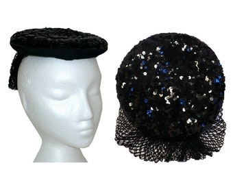 Swing Sweetheart - Vintage 1930's to 1940's Percher Hat