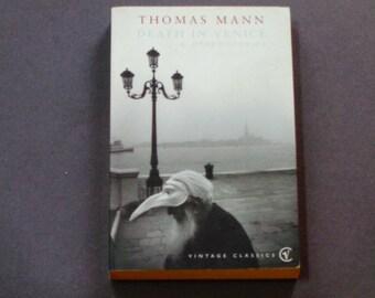 Death in Venice - Thomas Mann - Tonio Kroger - Little Herr Friedemann - Vintage Classic 1998 - German Lit - Short Stories -  Softcover Book