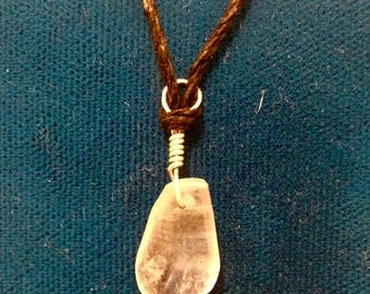 Clear Quartz Crystal Healing Necklace