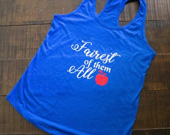 Fairest of them All Disney Womens Tank