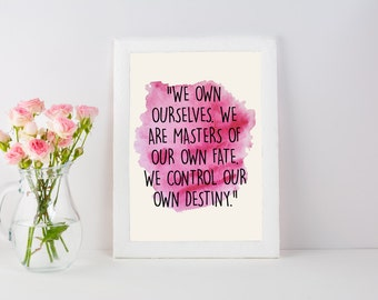 Lotso Quote Print, Disney Poster, Watercolor Art, Quote Watercolor Painting, Nursery Wall Art, Kids Room Decor Home Decor, Toy Story