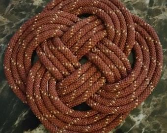 Rope mat