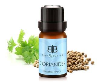 Coriander Seed (Coriandrum Sativum) Essential Oil 100% Pure Natural Fragrance Aromatherapy - 1ml Tester Vial, 10ml, 30ml, 50ml, 100ml Bottle