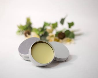 Solid Lotion Bar | Solid Lotion Puck | Beeswax Balm | Lotion in a Tin | Cocoa Butter | Shea Butter | Mango Butter | Fatty's Soap Co.