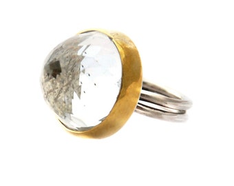 Conic Quartz Ring