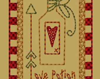 MACHINE EMBROIDERY-Keeper Of My Heart-Block-3-Colorwork-4X4-Instant Download