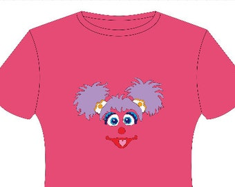 Abby Cadabby Sesame Street inspired T-shirt, MORE CHARACTERS AVAILABLE!