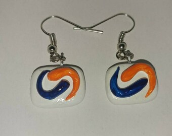 Tide Pod Earrings | Forbidden Fruit Earrings | Gag Gift | Laundry Pod Earrings