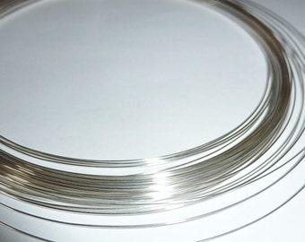 5 feet Fine Silver Wire - 24, 26, 28 or 30 Gauge - Tagt Team