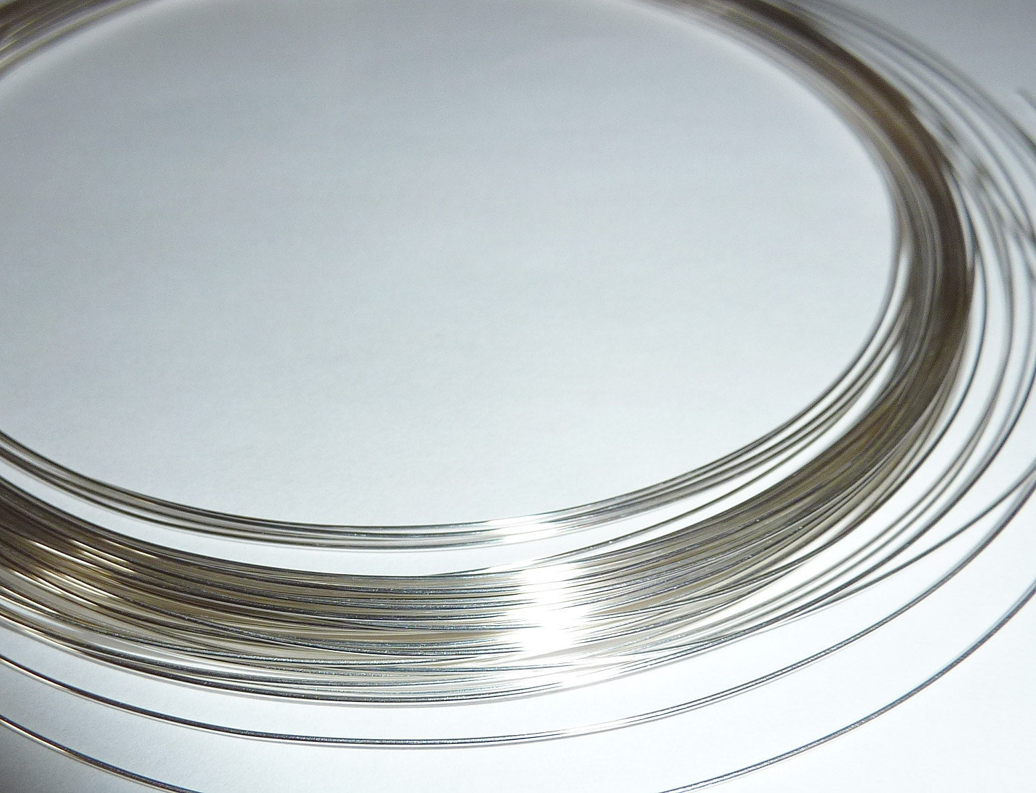 10 feet Fine Silver Wire - 24, 26, 28 or 30 Gauge - Tagt Team from ...