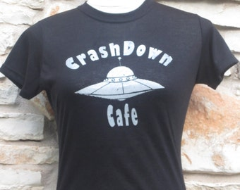 Women's Roswell Crashdown Cafe Screenprinted Shirt