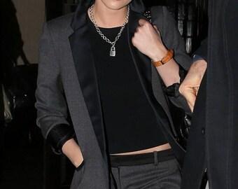 Kristen Stewart Punk Lock necklace