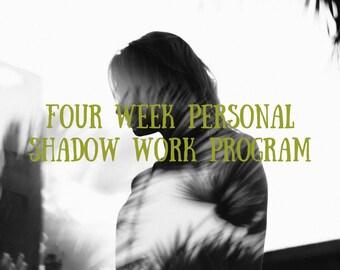 Four Week Personal Shadow Work Program