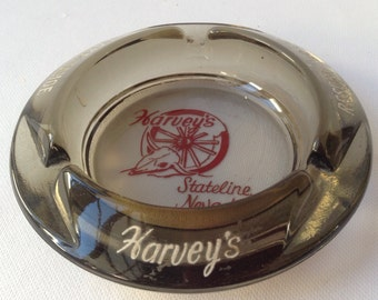 Harvey's Resort Hotel Ashtray Stateline Nevada