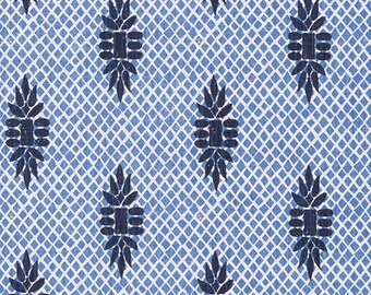 Boca Wedgewood lacefield Fabric, Fabric By The Yard