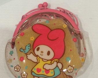 Vintage My Melody Sanrio purse bag made in Japan 1987