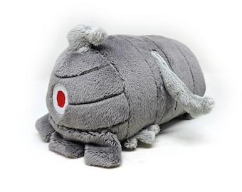 Dusclops Pokemon Small Plush Roll, Handmade, Stuffed Animal Nintendo Plush Gen 3