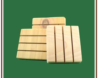 SOAP REST | 1 each | Handmade From Natural Cedar