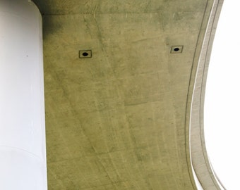freeway curve road car automobile urban modern midcentury minimalist print fine art photography