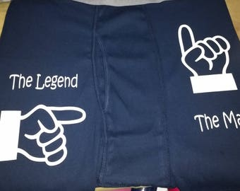 Customized men's shorts, personalized men's shorts, men's gifts