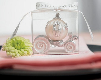 Cinderella Wedding Carriage Candle Wedding Favour Gift Pack of 1