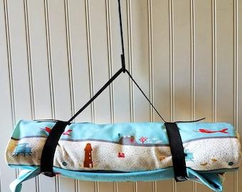 Picnic Blanket- Beach Blanket- Picnic Blanket Waterproof - Mermaids - Mermaid Blanket- Organic Picnic Blanket