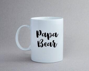 Papa Bear | Ceramic Coffee Mug
