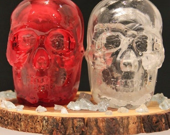 Skull Tea light Candle Holder, Lantern, Decorative Object - Home Accents & Accessories, Gifts and Decor