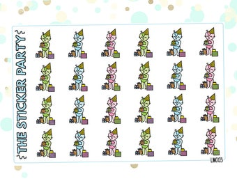 Lumi Presents Party Planner Stickers