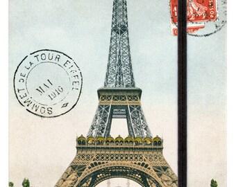Eiffel Tower Paris large notebook