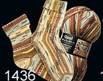 Opal Sock Yarn Hundertwasser, 100g/465yds, #1436
