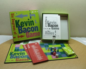 Six Degrees of Kevin Bacon Board Game