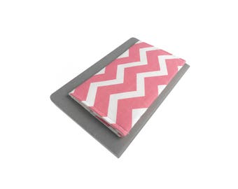 Checkbook Cover - Custom Check Book Cover - Chevron Checkbook Cover - Pink Checkbook Cover - Fabric Checkbook Cover - Pink Wallet
