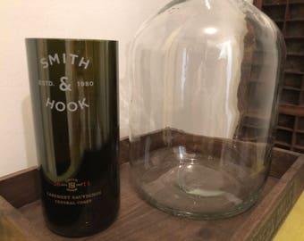 Smith & Hook wine bottle vase