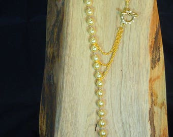 Swarovski Pearl 53 Lariat Necklace