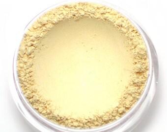"""Cream Shimmer Highlight Powder - """"Radiance"""" (shimmery cream, Net Wt 4.5g jar) - Vegan Mineral Highlighting Powder"""