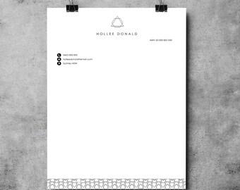 Letterhead | MS Word Tempalte | Printable Letterhead Template